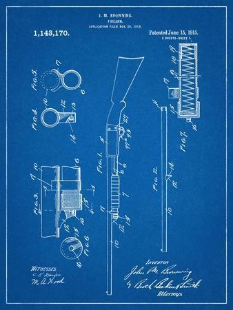 Browning Shotgun Patent