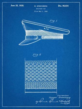 Military Cap Patent