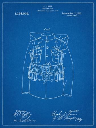Military Coat Patent