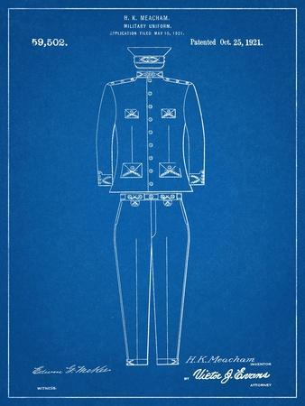 Military Uniform Patent