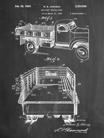 Military Vehicle Truck Patent