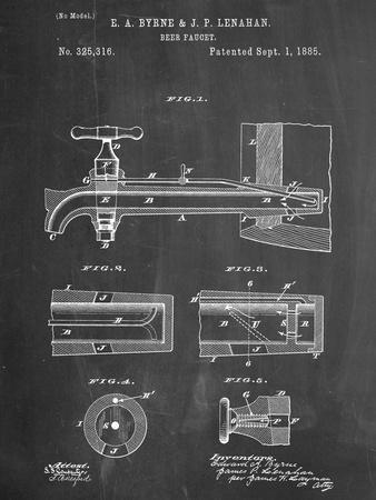 Vintage Beer Tap Patent