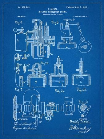 Diesel Engine Patent