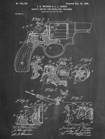 Wesson Pistol Patent