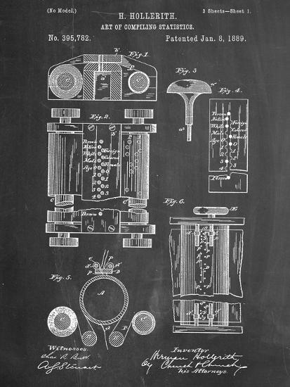 First Computer Patent 1889 Prints at AllPosters.com