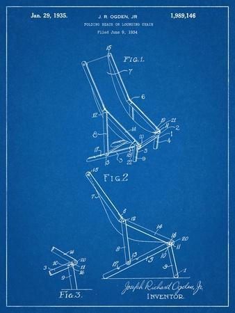 Folding Beach Chair Patent