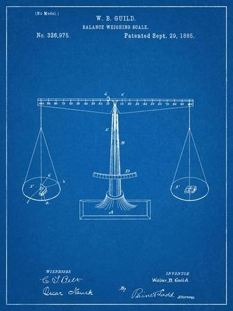 Scales Patent, Balanced Weighing Scale