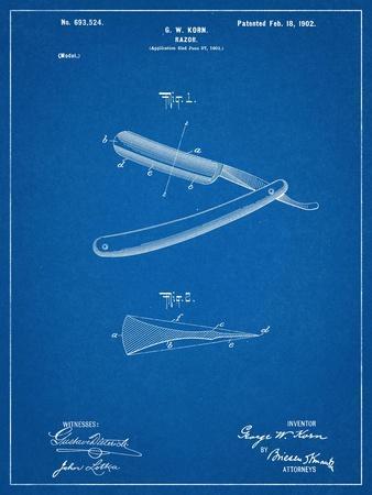 Shaving Razor Patent