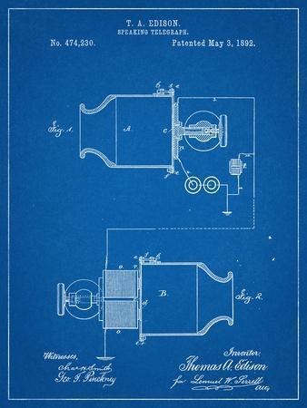 Speaking Telegraph Patent