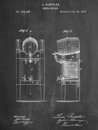 Beer Cooler Patent 1876