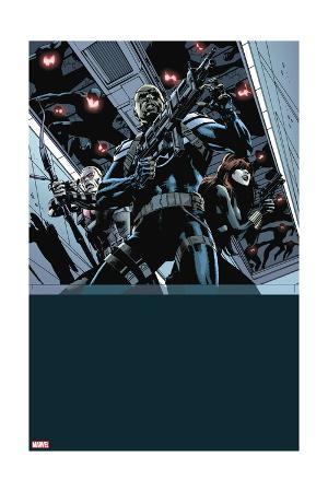 Secret Avengers #12 Cover: Nick Fury, Black Widow, Hawkeye