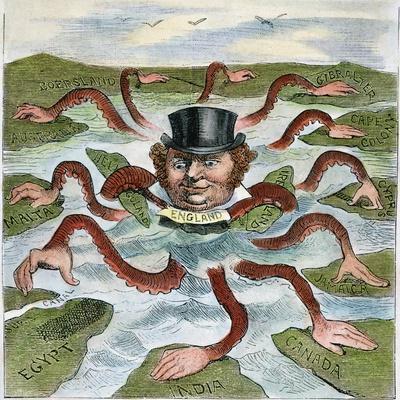 Imperialism Cartoon, 1882