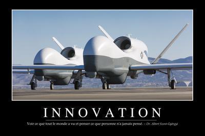 Innovation: Citation Et Affiche D'Inspiration Et Motivation