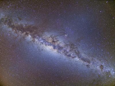Full Frame View of the Milky Way from Horizon to Horizon
