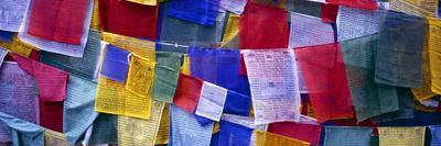 Prayer Flags, Tashiding, Sikkim, Northern India, India, Asia