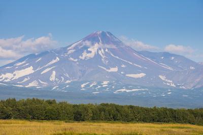Avachinskaya Sopka Volcano Near Petropavlovsk-Kamchatsky, Kamchatka, Russia, Eurasia