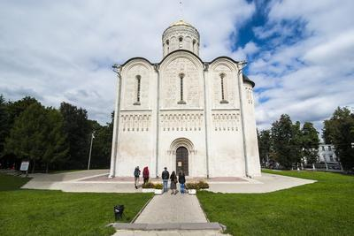 Cathedral of St. Dimitry, UNESCO World Heritage Site, Vladimir, Golden Ring, Russia, Europe