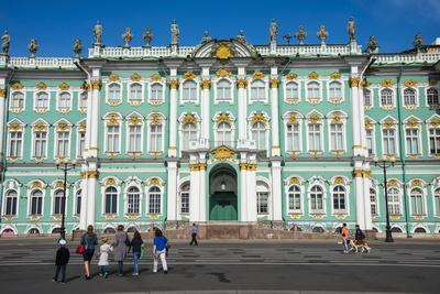 The Hermitage (Winter Palace), UNESCO World Heritage Site, St. Petersburg, Russia, Europe