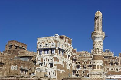 Old City of Sanaa, UNESCO World Heritage Site, Yemen, Middle East