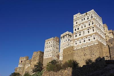 Al Hajjarah Village, Djebel Haraz, Yemen, Middle East