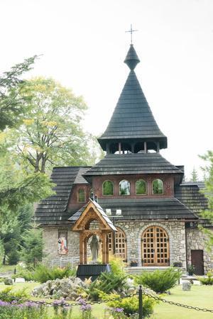 Wooden Church on the Edge of Tatra National Park, Zakopane, Poland, Europe