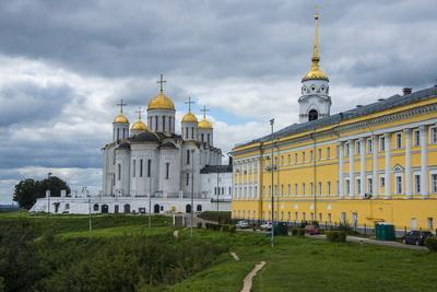 Assumption Cathedral, UNESCO World Heritage Site, Vladimir, Golden Ring, Russia, Europe