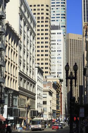 Sutter Street, San Francisco, California, United States of America, North America