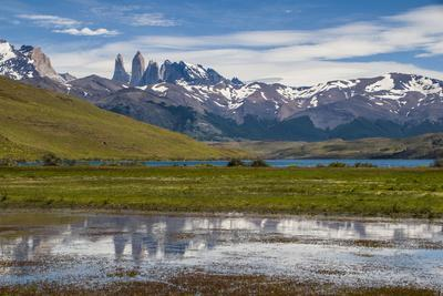 The Towers of the Torres Del Paine National Park, Patagonia, Chile, South America
