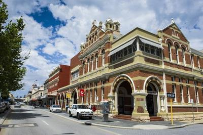 Colonial Buildings in Downtown Fremantle, Western Australia, Australia, Pacific