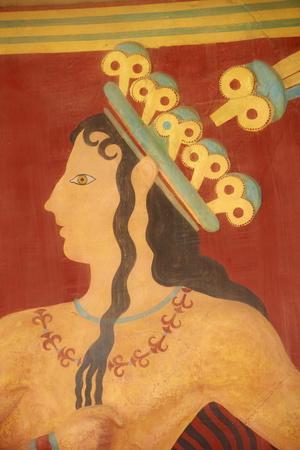 Princess of Lilies Fresco
