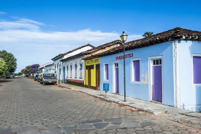 Colonial Architecture in the Rural Village of Pirenopolis, Goais, Brazil, South America