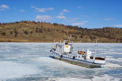 Frozen Harbour of Khoujir