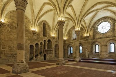 Refectory, Santa Maria Monastery, UNESCO World Heritage Site, Alcobaca, Estremadura