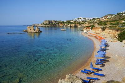 Amopi Beach, Karpathos, Dodecanese, Greek Islands, Greece, Europe