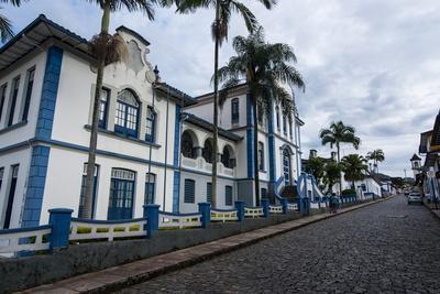 Historical Colonial Buildings in Mariana, Minas Gerais, Brazil, South America