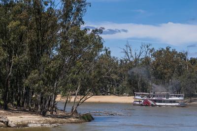 Old Steam Boat in Mildura on the Murray River, Victoria, Australia, Pacific