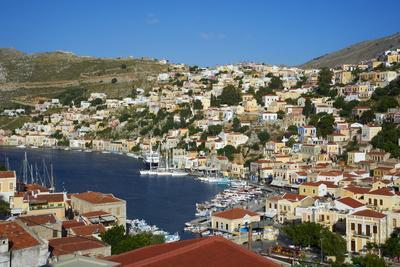 Gialos Harbour, Symi, Dodecanese, Greek Islands, Greece, Europe
