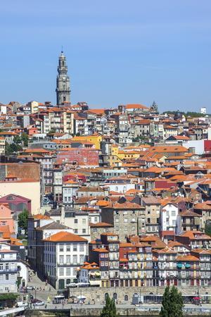 Torre Dos Clerigos, Old City, UNESCO World Heritage Site, Oporto, Portugal, Europe