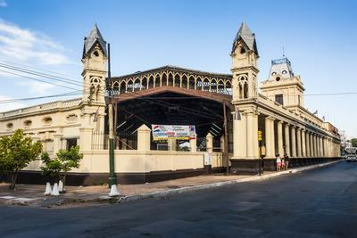 The Old Railway Station of Asuncion, Paraguay, South America