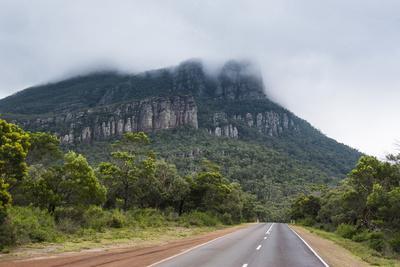 Road Leading to the Grampians National Park, Victoria, Australia, Pacific