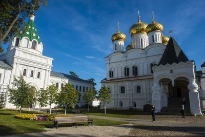 Monastery of St. Ipaty, Kostroma, Golden Ring, Russia, Europe
