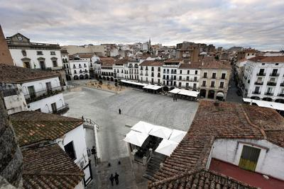 Caceres, UNESCO World Heritage Site, Extremadura, Spain, Europe