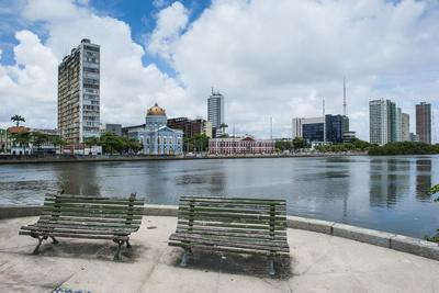 Historicla Waterfront of Recife, Pernambuco, Brazil, South America