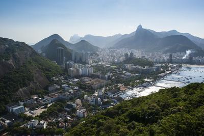 View from the Sugarloaf over Rio De Janeiro, Brazil, South America