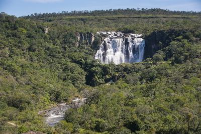 Corumba Waterfalls Near Pirenopolis, Goais, Brazil, South America