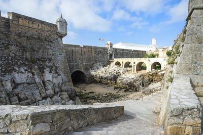 Ramparts of the Fortress, Peniche, Estremadura, Portugal, Europe