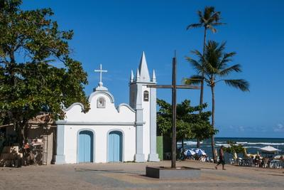 Little Church in Praia Do Forte, Bahia, Brazil, South America