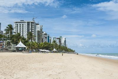Boa Viagem Beach, Recife, Pernambuco, Brazil, South America