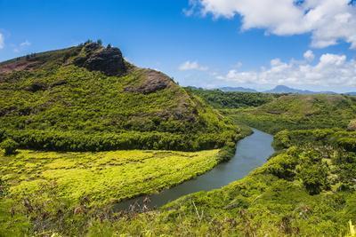 The Wailua River, Kauai, Hawaii, United States of America, Pacific