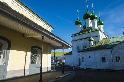 Trading Arcades in Kostroma, Golden Ring, Russia, Europe